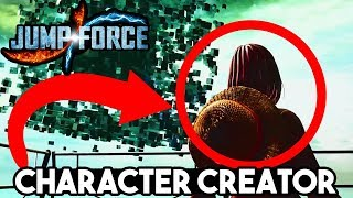 JUMP FORCE CHARACTER CREATION CONFRIMED! NEW Online Mode & Custom Character Avatar Creator Feature!