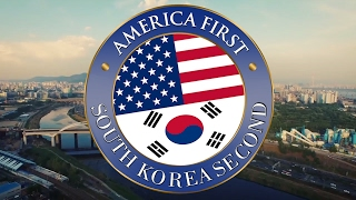 America First South Korea Second south korea impeachment 2017/03/10