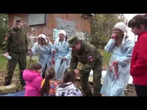 видео: В Петровской школе прошли учения по ГО ЧС