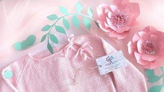 Розовое вдохновение/джемпер из хлопка/вязание детям спицами/knit for kids