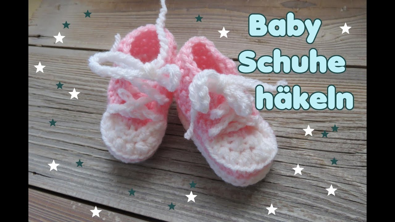Baby Turnschuhe Häkeln Baby Schuhe Baby Sneakers Carolines Welt