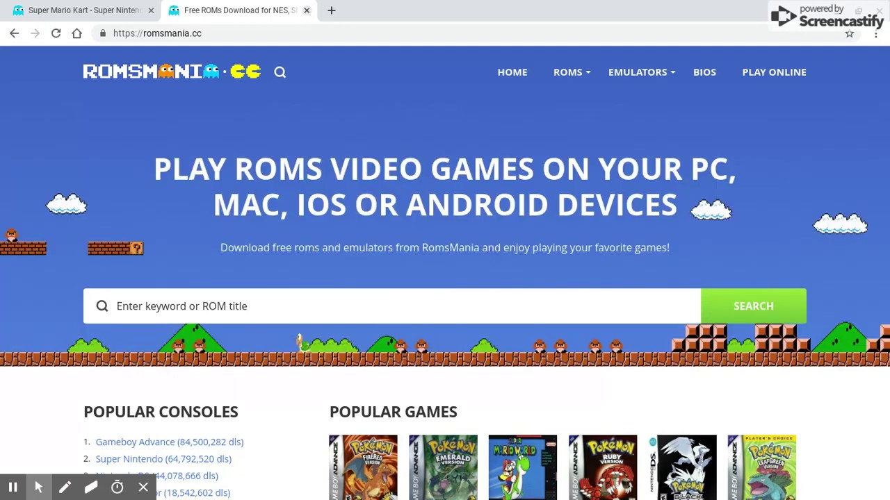 How To Get Working Roms And An Emulator On Chromebook Youtube