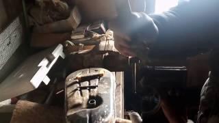 Замена сальниковой набивки, венца на маховик у автомобиля ГАЗ 24 Волга не снимая двигатель