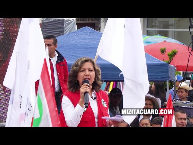¿A qué se comprometió Sonia Rivas durante el Cierre de su Campaña?