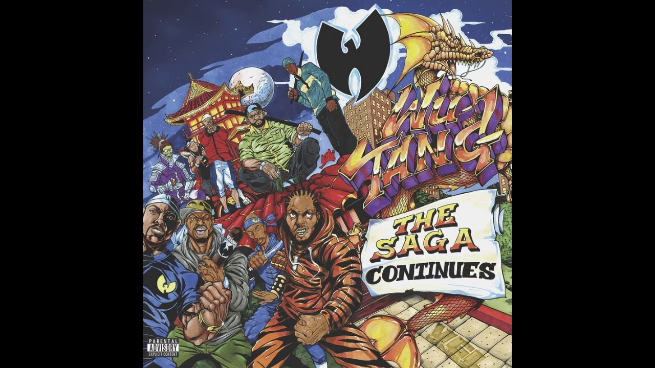 Wu-Tang Clan - 'The Saga Continues' (2017) full