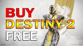 Destiny 2: How to Buy Destiny 2 FREE! EVERYONE CAN DO THIS! (appnana)