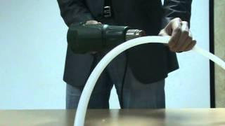 Труба для теплого пола Uponor (Санпол)(Нагревание и восстановление формы трубы для теплого водяного пола Uponor Wirsbo. Подробнее о теплых полах водяны..., 2011-06-14T14:43:49.000Z)