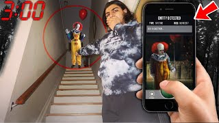 DO NOT USE THE CLOWN SPOTTER APP AT 3:00 AM | *THIS IS WHY* | 3 AM CLOWN HUNTING CHALLENGE! (CLOWN!)