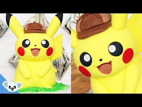 Detective Pikachu Pokemon Cake | Birthday Party| Cake Art | Koalipops
