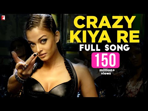 Crazy Kiya Re  Full Song  Dhoom:2  Hrithik Roshan  Aishwarya Rai  Sunidhi Chauhan