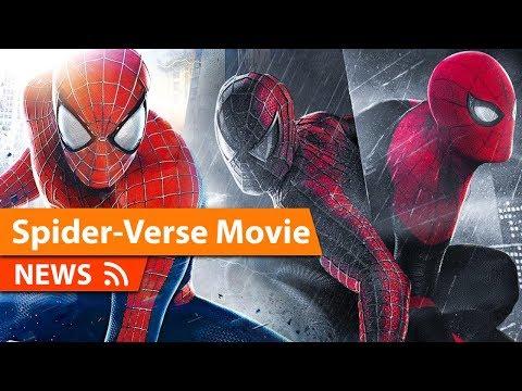 Live Action Spider-Man Spider-Verse Film In Development According to Reports