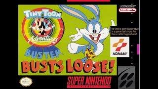 Прохождение Tiny Toon Adventures - Buster Busts Loose!