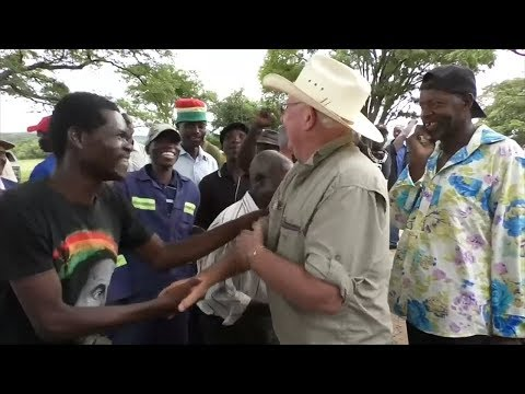Tears Of Joy As White Zimbabwean Farmer Returns To Seized Land
