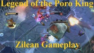Legend of the Poro King Full Gameplay Spotlight - Zilean Summons Giant Poro Kings