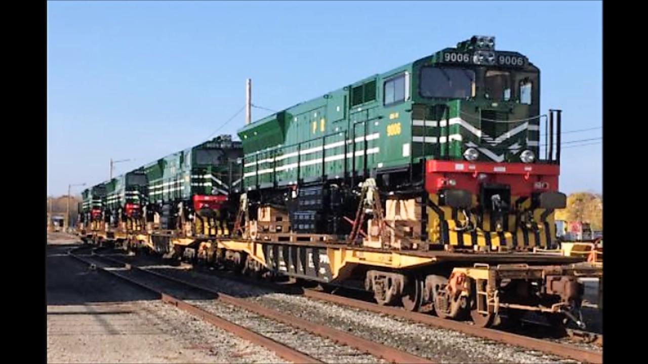 Ge Locomotives For Pakistan Railway