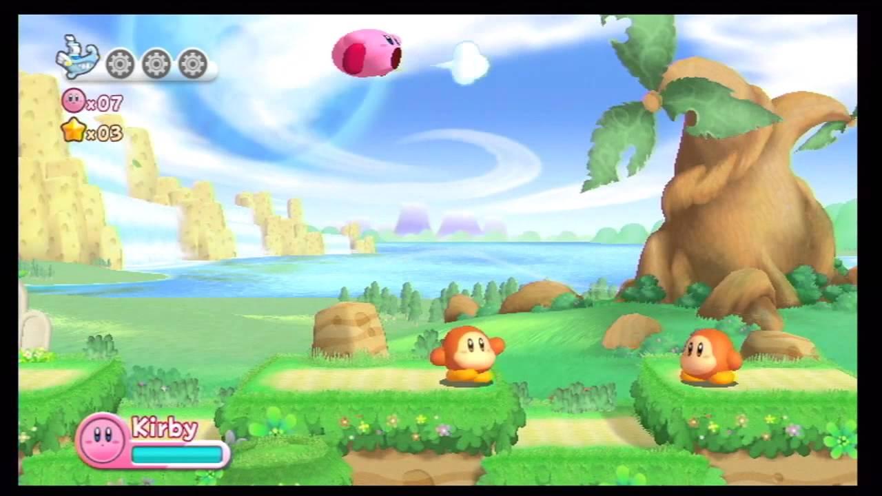Nintendo Wii U - Kirby's Return to Dreamland (Upscale Test - Quicklook) - YouTube