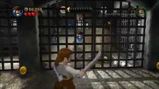 LEGO Pirates of the Caribbean: The Video Game Gameplay (PC HD)