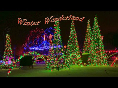 World's largest Holiday Light Display Marshfield Wisconsin