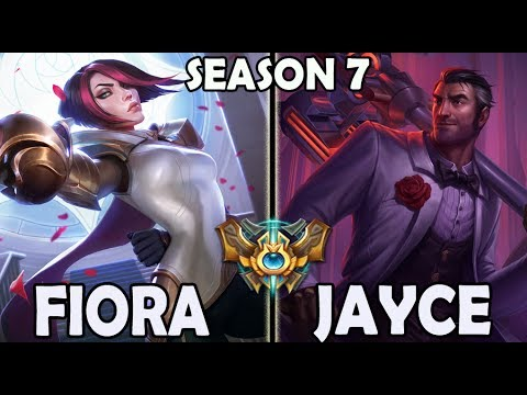 Afreeca Marin FIORA TOP vs Jayce Ranked Challenger Korea