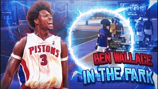 Ben Wallace running the park with a 99 lock, Ben is a monster 😱