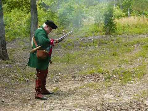 Ricky Roberts Ferguson Rifle Timed Fire at King's Mountain National Military Park