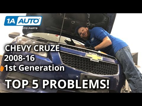 Top 5 Problems: Chevy Cruze 2008-16 1st Gen