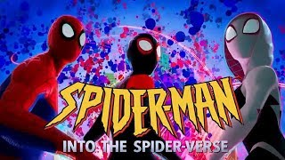 SpiderMan Into the SpiderVerse but it39;s the 9039;s theme