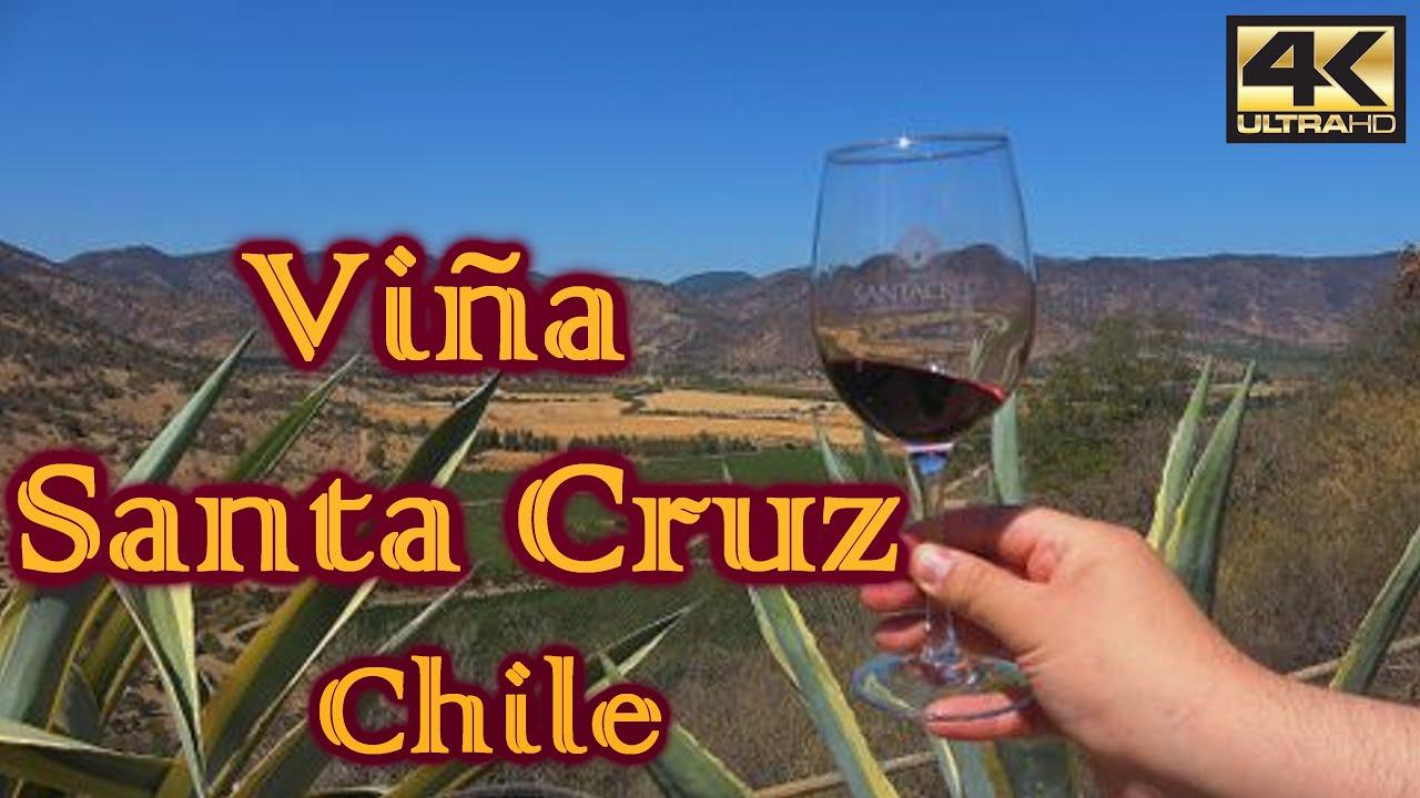 Turismo en SANTA CRUZ – CHILE ¿Qué visitar? [4K] - YouTube