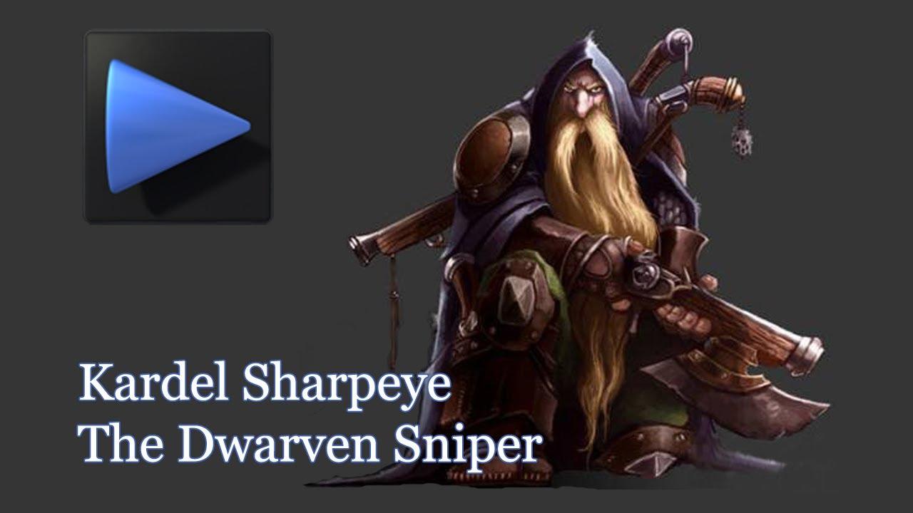 Dota 2 thaqib plays kardel sharpeye the sniper youtube.