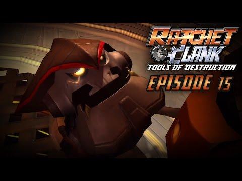 Ratchet & Clank: Tools of Destruction Walkthrough - CAPTAIN SLAG BOSS BATTLE - Episode 15