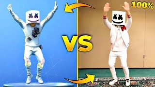 FORTNITE DANCES IN REAL LIFE IN 100% SYNC! (BEST FORTNITE DANCES IN REAL LIFE)