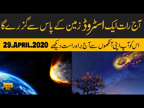 Asteroid On 29 April 2020 Live From Space Watch Asteroid Live