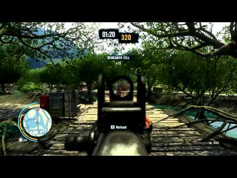 Far Cry 3: Deagle, .50 cal Sniper, South Island