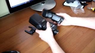 видеообзор вспышки Yongnuo YN685 (1часть) unboxing