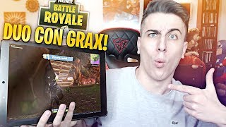 PRIMA VITTORIA REALE SU MOBILE! Con GRAX! Fortnite Battle Royale Mobile ITA!