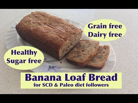 This Is Healthiest Banana Loaf Bread (made With Almond Flour)