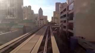 Metromover Downtown Miami 11-2014