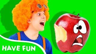Sweet Apple | La La Learn Kids Songs | D Billions Parody #dbillions #sweetapple