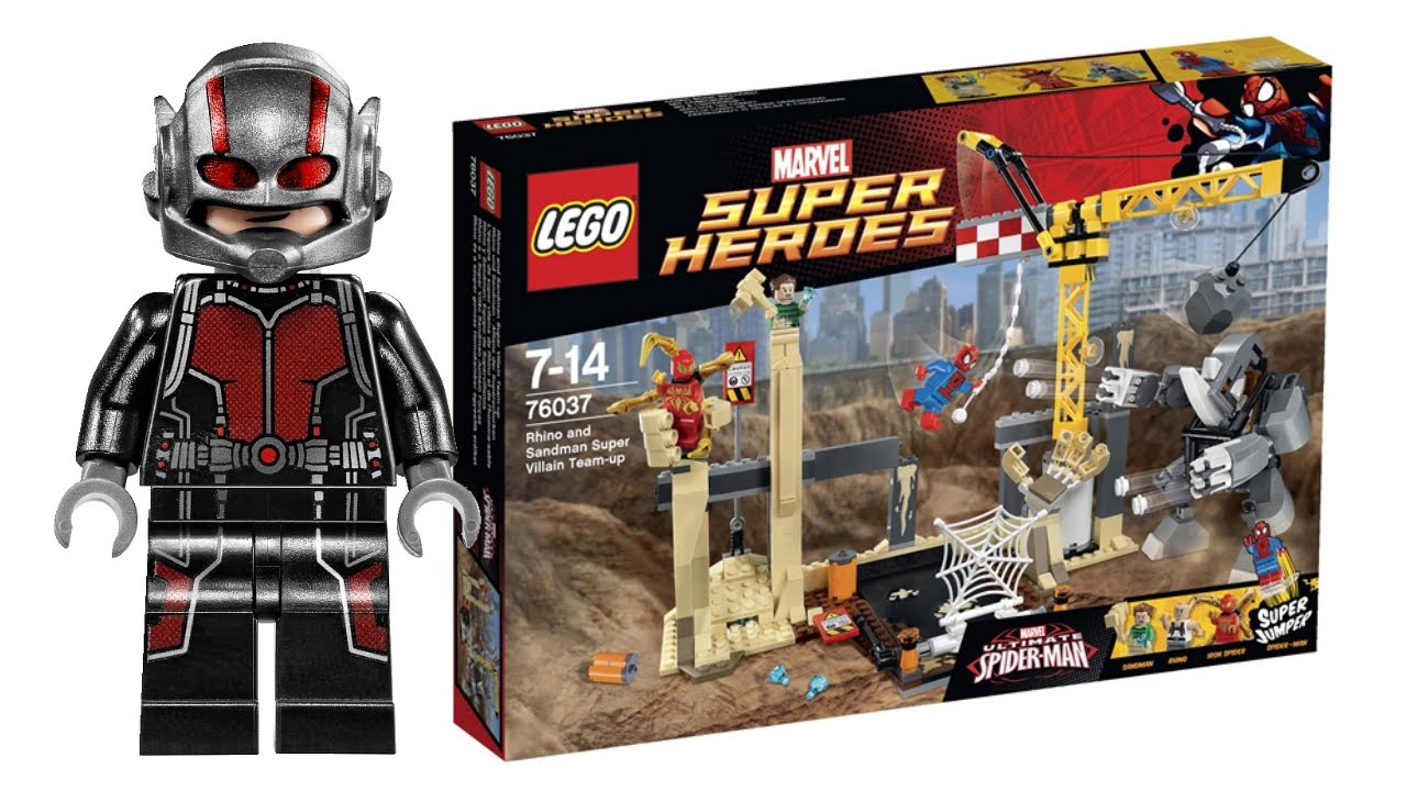 LEGO Super Heroes Summer 2015 sets pictures! - YouTube