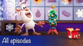 Booba - All Episodes Christmas Compilation + 12 Food Puzzles - Cartoon for kids