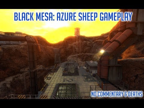 Black Mesa: Azure Sheep Part 1: Demo Gameplay [No Commentary & Deaths]