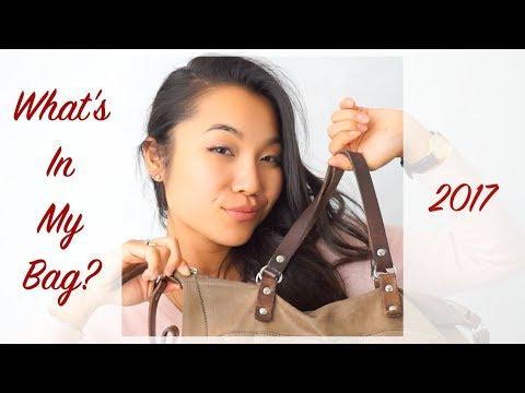 気になるかばんの中身!What's in my bag 2017 | monaRISAsmiles