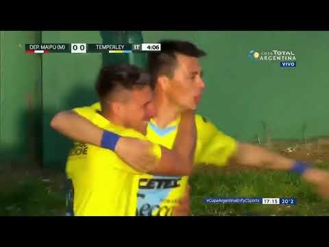 Los goles de Leandro González en la Copa Argentina
