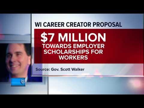 Walker proposes workforce training plan at MATC