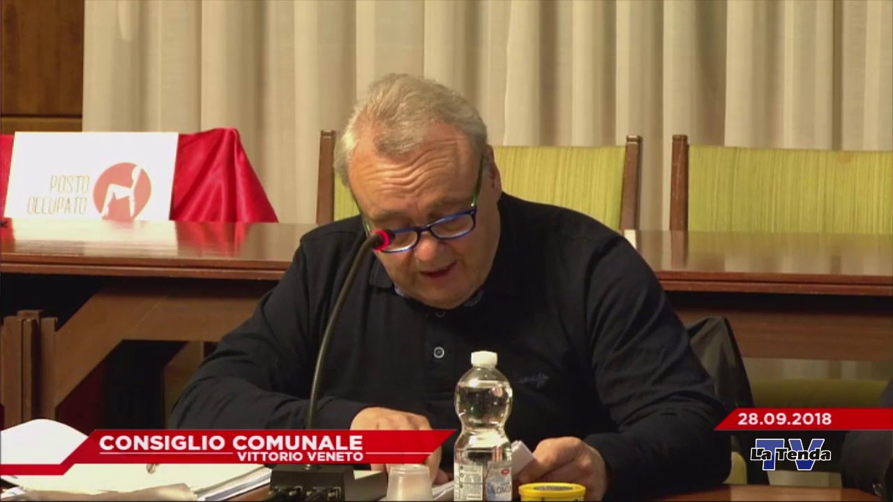 CONSIGLIO COMUNALE VITTORIO VENETO - Seduta del 28.09.2018