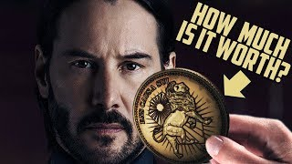 How Much is One John Wick GOLD COIN Worth?