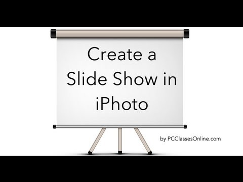 Create a Slideshow in iPhoto