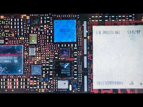 Ремонт IPhone 7 аудио кодек, 12 ряд  в отвале. Москва