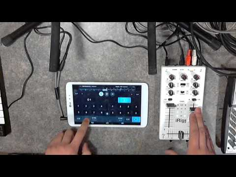 Cross DJ For Android With IRig Mix