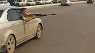 Armed and extremely dangerous Russian drivers | Road Rage In Russia